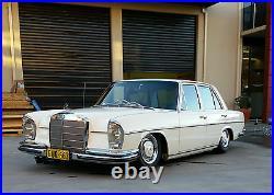 1965-1972 Mercedes W108 Front Air Bag Mounting Bracket Set Airbag Kit