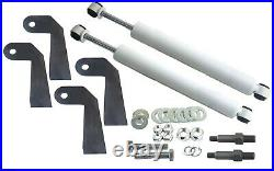 1999-06 Silverado Front Air Ride Kit Bolt in Bags Drop Spindle Shock Relocator