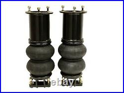 2007-16 Silverado Front Bolt On Air Ride Bag Kit Bolt in Bags Drop Spindles