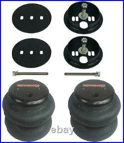 3/8 Front & Rear Bolt In Air Ride Suspension For 63-72 C10 Bag Brackets Mounts