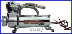 480 Air Compressor 3 Gallon Tank Drain 120 on 150 off Switch Air Bag Suspension