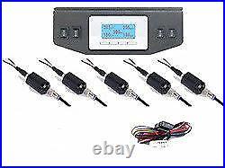 5 Read Digital Display 150psi Air Gauges & Panel Four Switch Air Ride Suspension