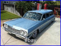 58-64 Chevrolet Impala Bel Air Front and Rear Air Bag Bag Brackets BOLT ON SET