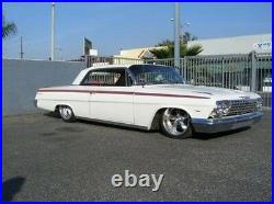 58-64 Chevy Impala Front& Back Air Suspension Kit Bags
