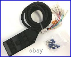 64-72 Chevelle Airbag Kit Stage 2 3/8 Electric 4 Path Air Ride System