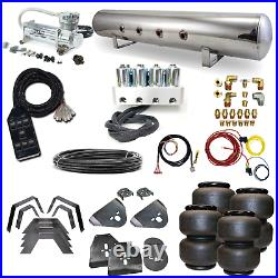 73-87 C10 C20 Airbag Kit Stage 2 3/8 Electric Manifold 4 Path Air Ride