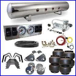 88-98 Chevy C1500 Airbag Kit Stage 1 1/4 Manual Control 4 Path Air Ride