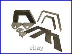 99-06 Silverado Front Rear Weld on Kit Notch Parallel 4 Link airmaxxx Air Bag