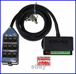 AVS Switch Box Chrome 9 Button Rocker Air Ride Suspension System Controller