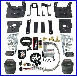 Air Bag Suspension Tow Kit White On Board Control For 2011-16 Ford F250 F350 4x4