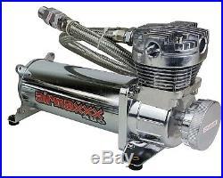 Air Compressors AirMaxxx 480 Chrome 3/8 Valves Air Bag Management Blk 7 Switch