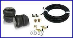 Air Lift Dominator 2- 2600 lbs Air Bags 1/4 OD Airline Schrader Valve, Fittings
