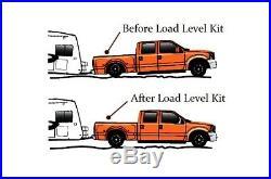 Air Load Level Bolt On Kit White Gauges 2011-2017 Chevy 2500 3500 8 Lug Truck