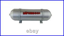 Air Load Level Bolt On Kit White Gauges For 2011-17 Chevy 3500 2500 8 Lug Truck