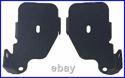 Air Ride Suspension Front & Rear Bag Brackets For 1965-70 Chevy Impala