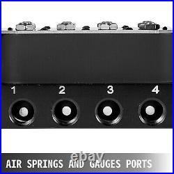 Air Ride Suspension Manifold Valve 1/4G Fast Air Bag Control fbss 250psi Maxx