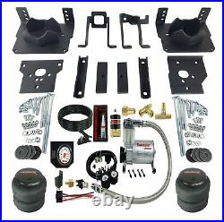 Air Suspension Bag Tow Kit White On Board Control For 2011-16 Ford F250 F350 2wd