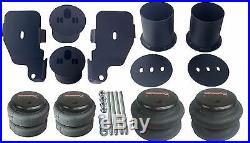 Air Suspension Kit For 65-70 Impala 1/2 Valves Blk 7 Switch Pewter Compressors