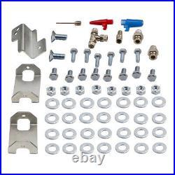 Air Suspension Spring Bag + 12V Compressor Kit for Ford Transit 2001-2020 4000kg