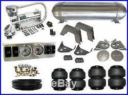 Air Suspension System 1/4 79-95 Toyota Hilux Pickup 4 Path Airbag Kit FBSS