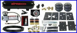 Air Tow Assist Kit Black Gauge Management & Tank Fits 2014-2020 Dodge Ram 2500