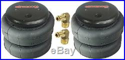 Air Tow Assist Kit Rear Axle Level For 1994-02 Dodge Ram 3500 Over Load Towing
