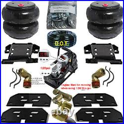 Air Tow Assist Load Level 2003 2013 Dodge Ram 3500 Truck with Compressor