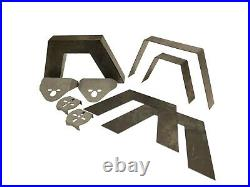 Airmaxxx Front Rear Weld On Kit Notch Parallel 4 Link & Bags For 73-87 Chevy C10