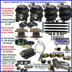 B Air Suspension Dodge R1500 Complete See Descript Below