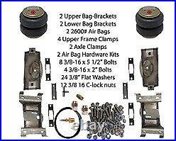 B Air Tow Assist Rear Air Bag 2007-UP Chev Silverado 1500