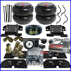 B No Drill Tow Assist On Board Air Management 2003-13 Dodge Ram 2500 3500DC100