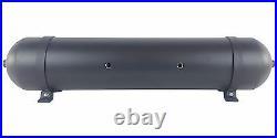Black 5 Gallon 7 Port Air Tank 33 Seamless Spun Aluminum Air Ride Suspension