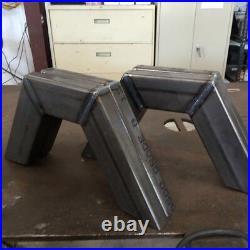 C Notch Kit 1 Piece Set 2x4 Weld In Custom Bagged Air Ride S10 Silverado Truck