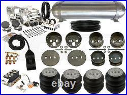 Complete Airbag Suspension Kit LEVEL3, 65-72 Mercedes W108