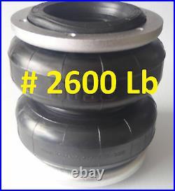 Dodge RAM 2500 2014 Onwards BOSS Air Bag Suspension Coil Replacement Kit LA67