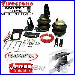 Firestone 2445 Ride Rite Rear Air Bags for 07-20 Toyota Tundra TRD 2WD 4WD 4x4