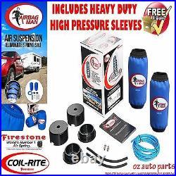 Firestone Coil Air Bag Suspension Spring Assist Kit For Nissan Patrol Y62 Hd HP