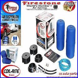 Firestone Coil Air Bag Suspension Spring Kit For Nissan Patrol Gu/gq Ute 4 Lift