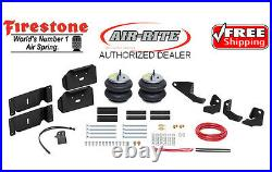 Firestone Ride Rite Air Bags AirLift Air Compressor for 17-22 Ford F250 F350 2wd