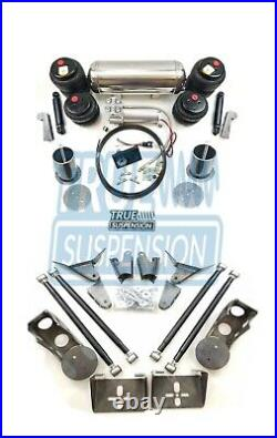 Fits 1963-1964 Ford Galaxie Car Air Ride Suspension Lowering System Kit