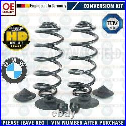 For Bmw E61 Estate Touring Rear Air Suspension Bag To Coil Spring Conversion Kit