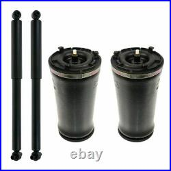 Gen II Rear Air Bag Spring & Shock Kit Set of 4 for Buick Chevy Olds Saab SUV