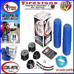 Holden Commodore Ute Vu-vz Low Firestone Coil Air Bag Suspension Spring Kit