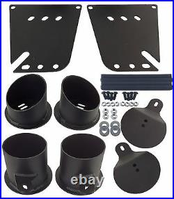 Impala Air Ride Suspension Bag Brackets Front and Rear Bolt On 1958 1964 Chevy