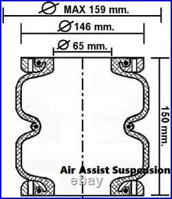 LA06 Ford Falcon XG XH XF AU BA BF FG AirBag Suspension Load Assist Kit New