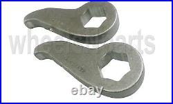 Level Lift Kit For 2011-19 Chevy 8 Lug Truck Torsion Keys & Rear Air Suspension