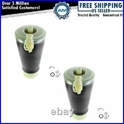Rear Air Suspension Spring Bags Pair Set For 90-11 Ford Grand Marquis Lincoln &