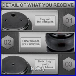 Rear Weld On Air Ride Mount Kit Air Bags Suspension Kit single 1/2 port 600 Psi