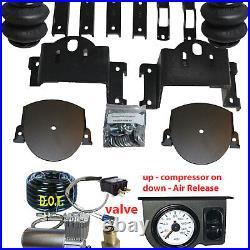 Silverado air bag helper springs airbags no drill 2011-17 8 lug Air Management