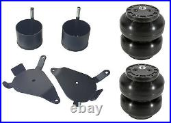 Slam SS6 Air Bag Brackets Front Suspension Chevy S10 GMC S15 Air Ride Cups